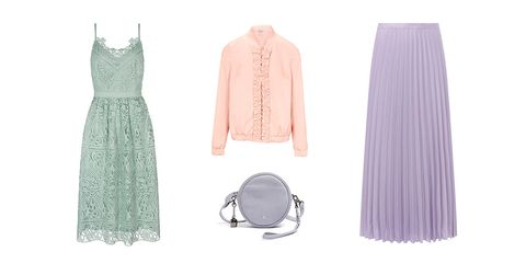 pastel colours fashion