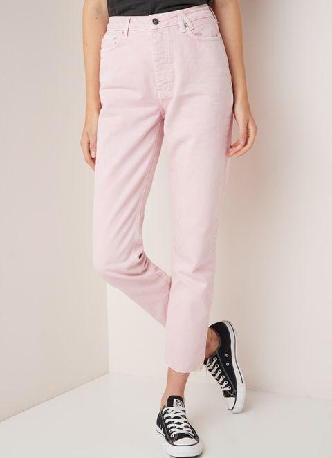 Jeans trend pastel