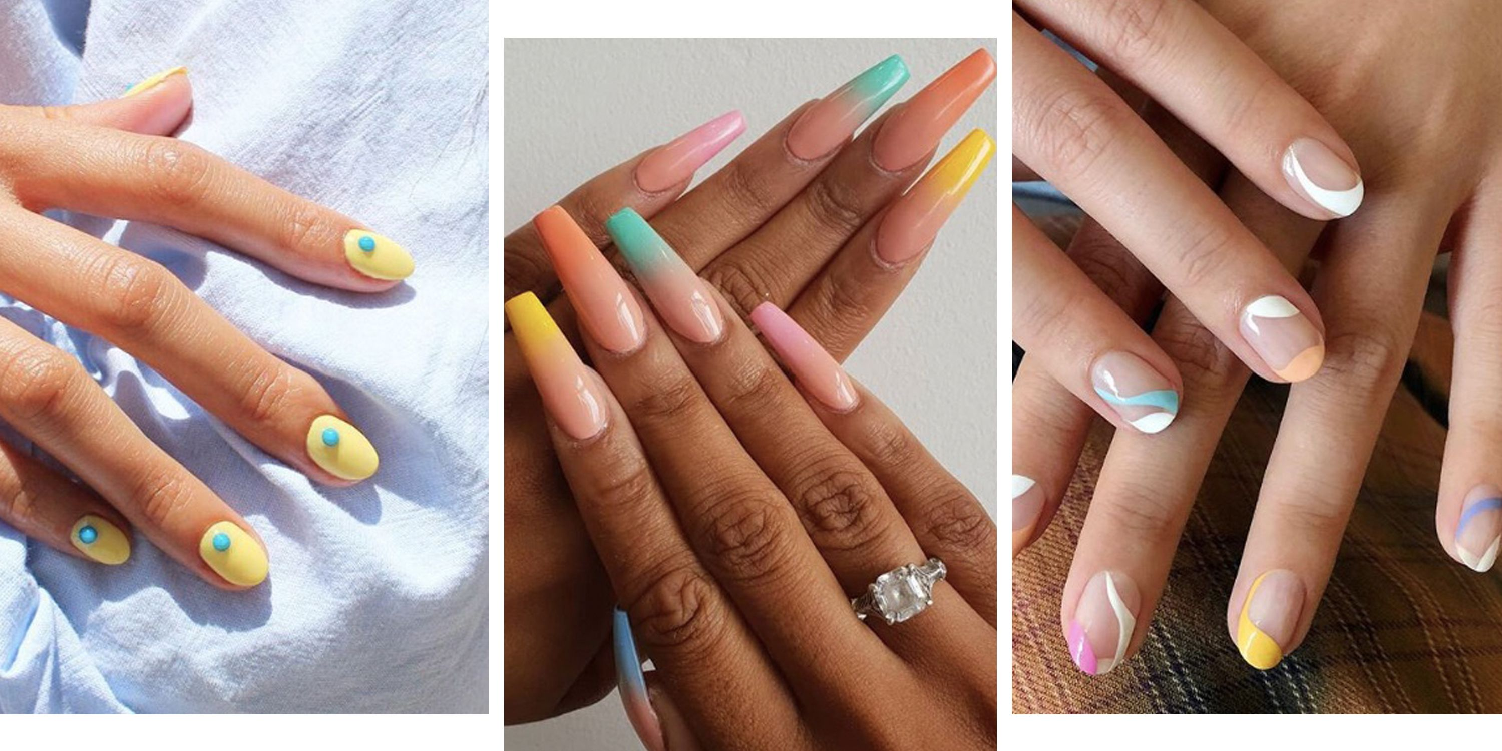 23 surprisingly chic pastel nail designs
