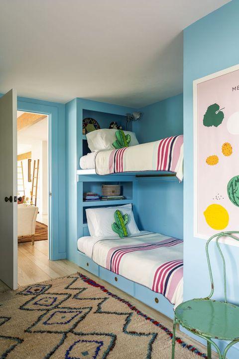 blue kids bedroom
