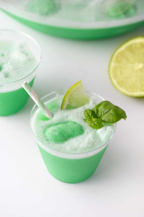 Lime Sherbert Punch