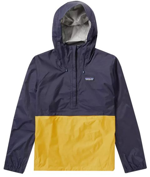 Clothing, Outerwear, Jacket, Hood, Sleeve, Raincoat, Yellow, Windbreaker, Hoodie, Sweatshirt,