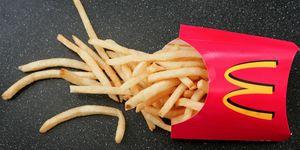patatas fritas mcdonalds caida pelo
