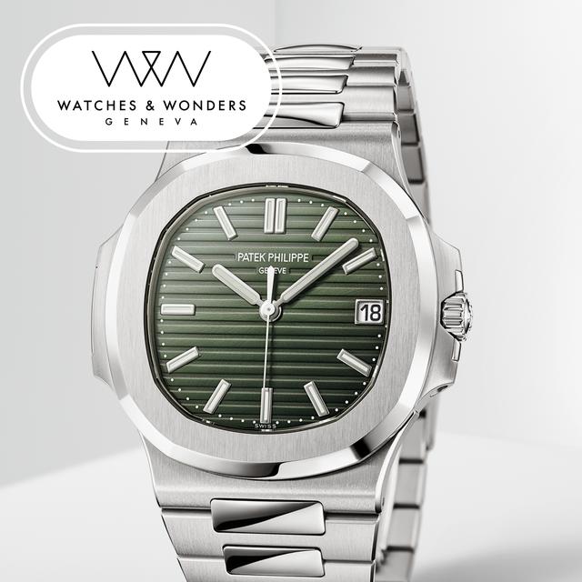 patek phillipe nautilus 5711 watches and wonders 2021