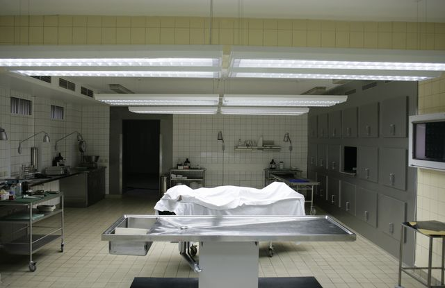 pathology department in a hospital