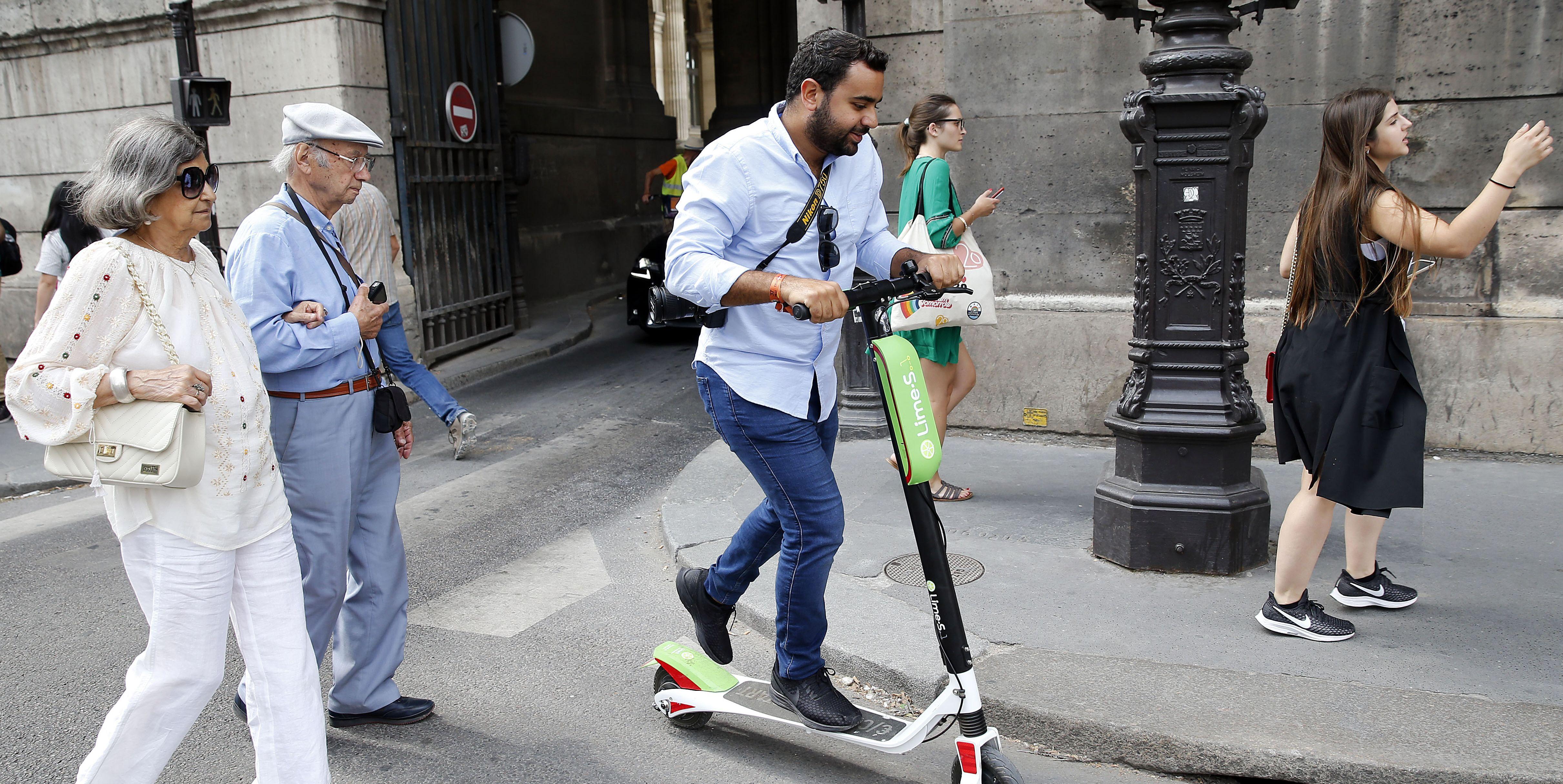 patinetes eléctricos peligrosos