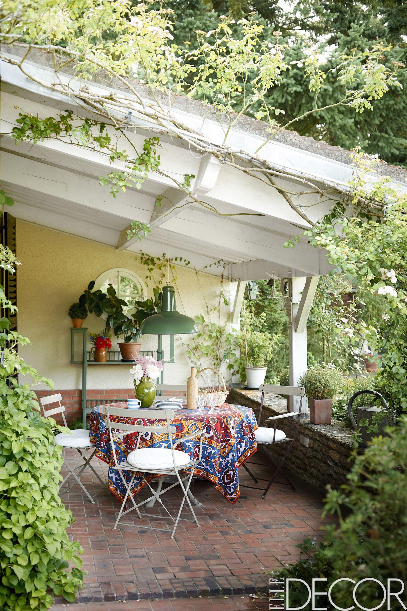 inspiring small patio decor ideas 40 gorgeous small patios rh elledecor com garden patio ideas pinterest garden patio ideas pictures uk