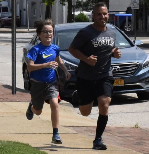 Running, Recreation, Jogging, Fun, Family car, Car, Exercise, Vehicle, Sports, Physical fitness,