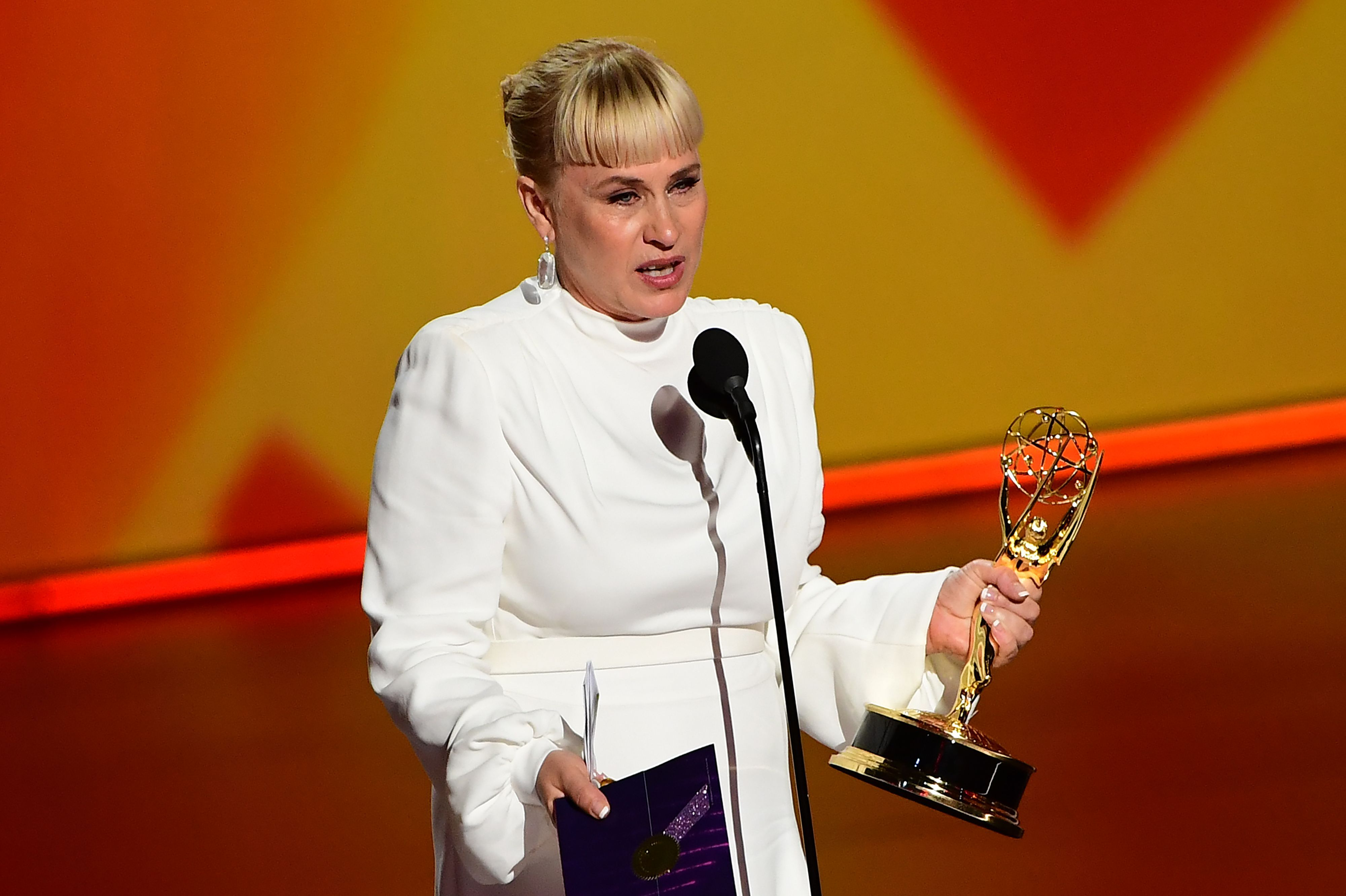 Patricia Arquette Makes a Plea for Trans Rights at the Emmys