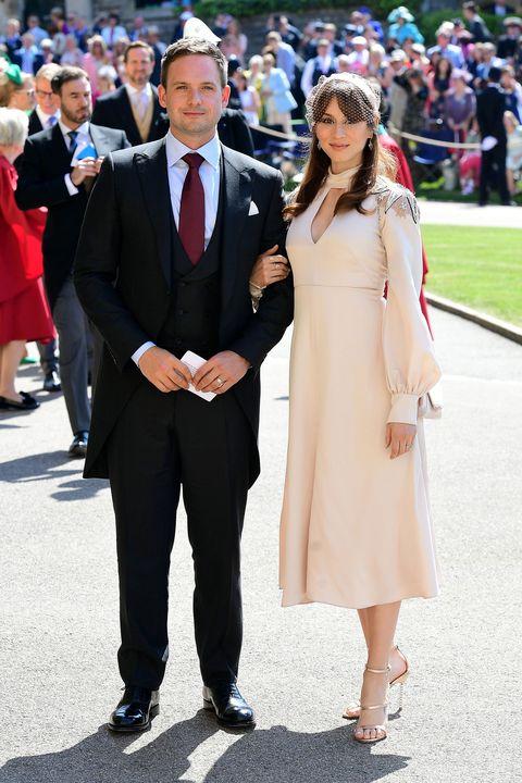 Patrick Adams at the royal wedding