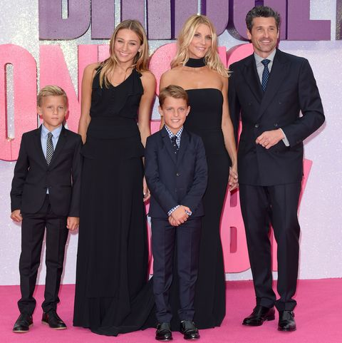 All About Patrick Dempseys Wife Jillian Fink And Their Three Kids