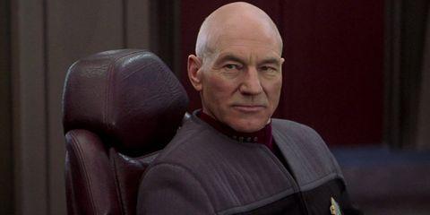Patrick Stewart Star Trek Nemesis