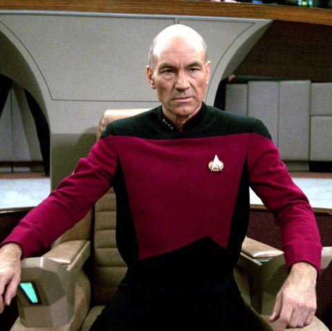 Patrick Stewart as Jean-Luc Picard, Star Trek Next Generation