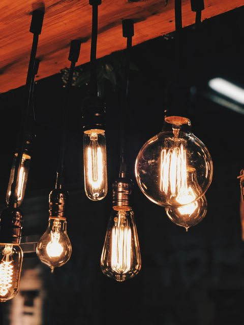 Light fixture, Lighting, Ceiling, Chandelier, Incandescent light bulb, Light, Light bulb, Ceiling fixture, Lighting accessory, Lamp,