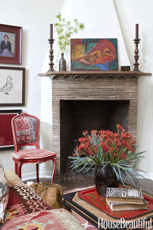 Patrick Wade Dave DeMattei fireplace