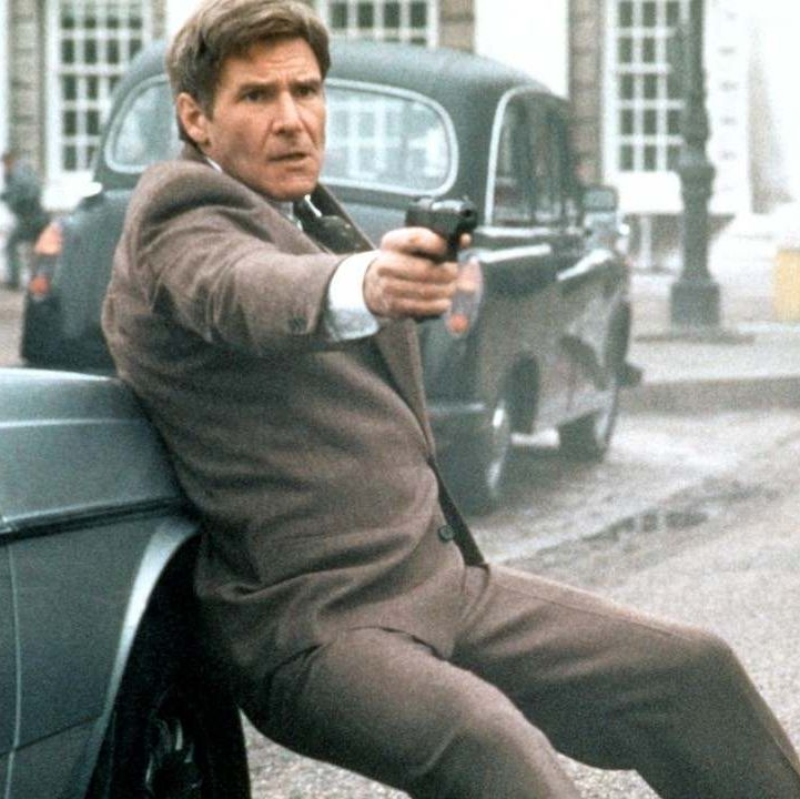 Patriot Games Harrison Ford's first outing as Tom Clancy's hero Jack Ryan sees the CIA agent pursued by an IRA member seeking revenge after Ryan killed his brother while stopping a terrorist attack.