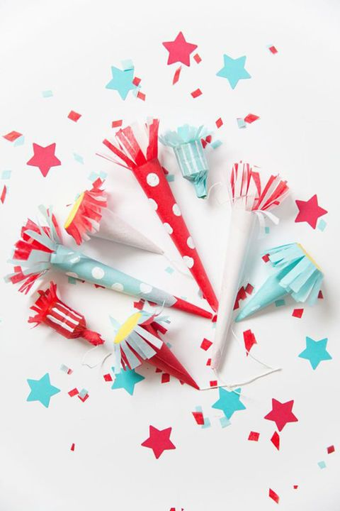 4th of July Party Poppers - Tell Love and Party