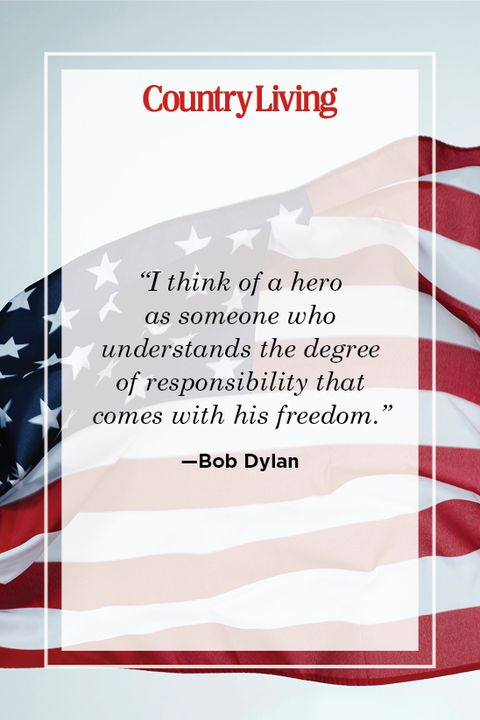 patriotic quote by bob dylan
