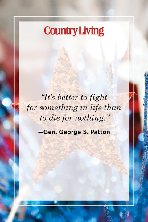 patriotic quote by general george s patton