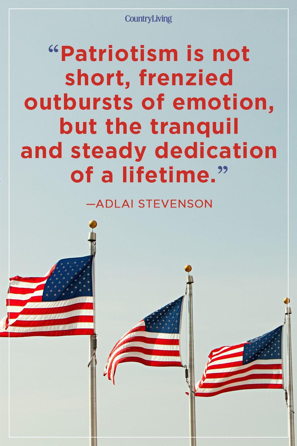 patriotic quotes adlai stevenson