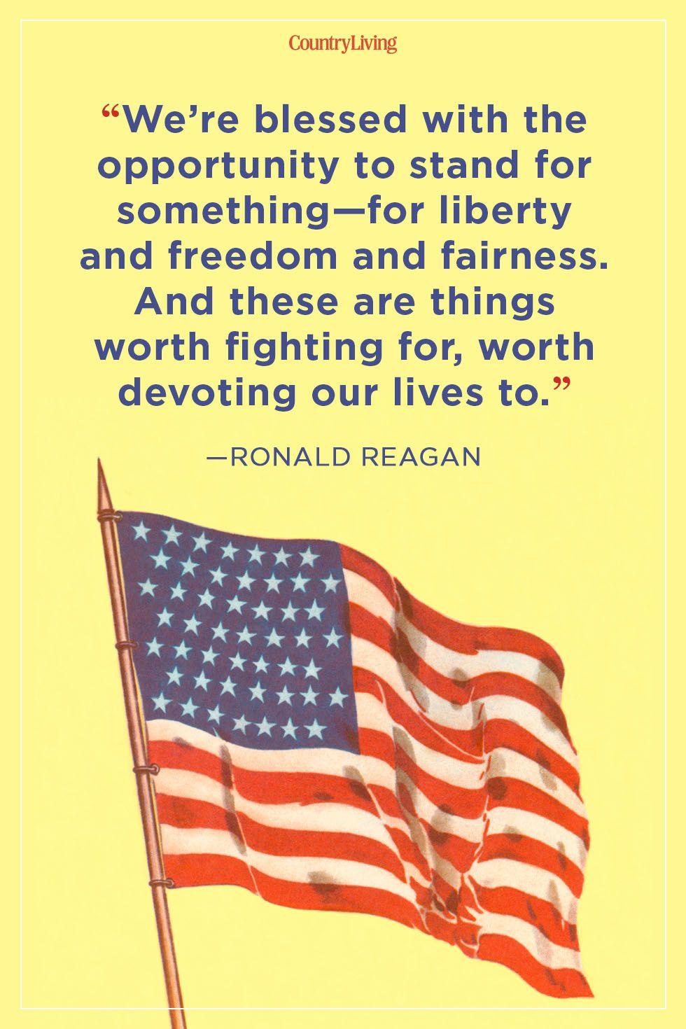 patriotic quotes ronald reagan