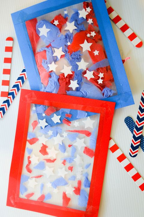 0d763817502 22 Easy 4th of July Crafts - Patriotic Fourth of July DIY Ideas