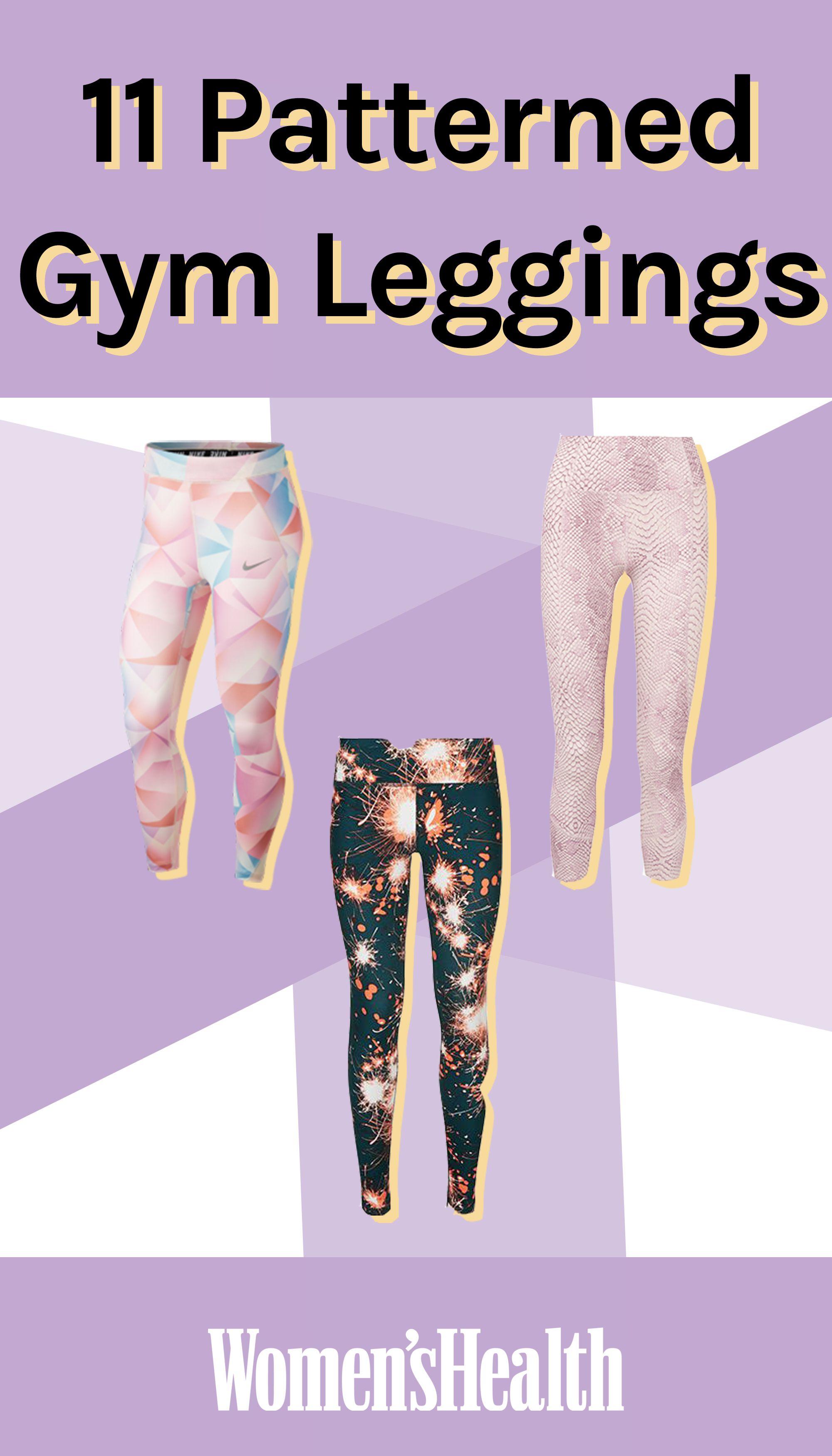 Patterned Gym Leggings