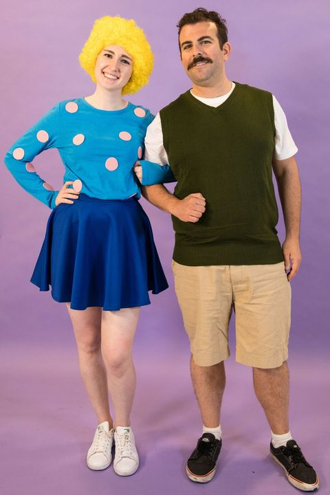 Patti Mayonnaise and Doug Funnie Halloween Costumes for Couples