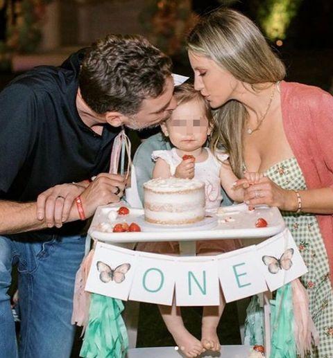 pau gasol celebra el primer cumpleaños de su hija