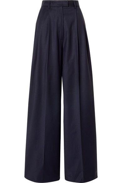 net-a-porter palazzo broek grote broek wijde broek broekentrend modetrend herfst winter 2019 2020 microtrend