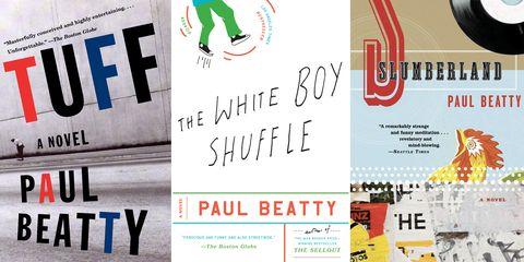 tuff a novel, the white boy shuffle, slumberland, paul beatty