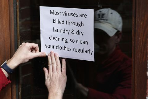 Dry Cleaning Remains Open During Pandemic