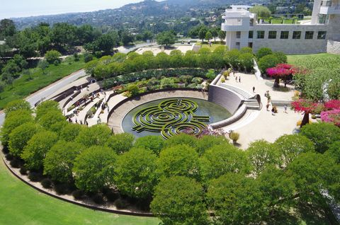 J. Paul Getty Museum Central Garden