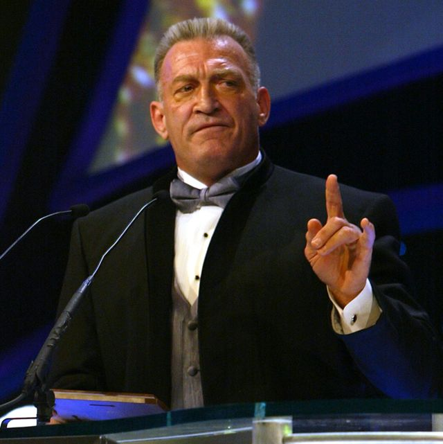 mr wonderful paul orndorff is inducted into the wwe hall of fame during ceremonies at universal amphitheatre photo by chris farinacorbis via getty images
