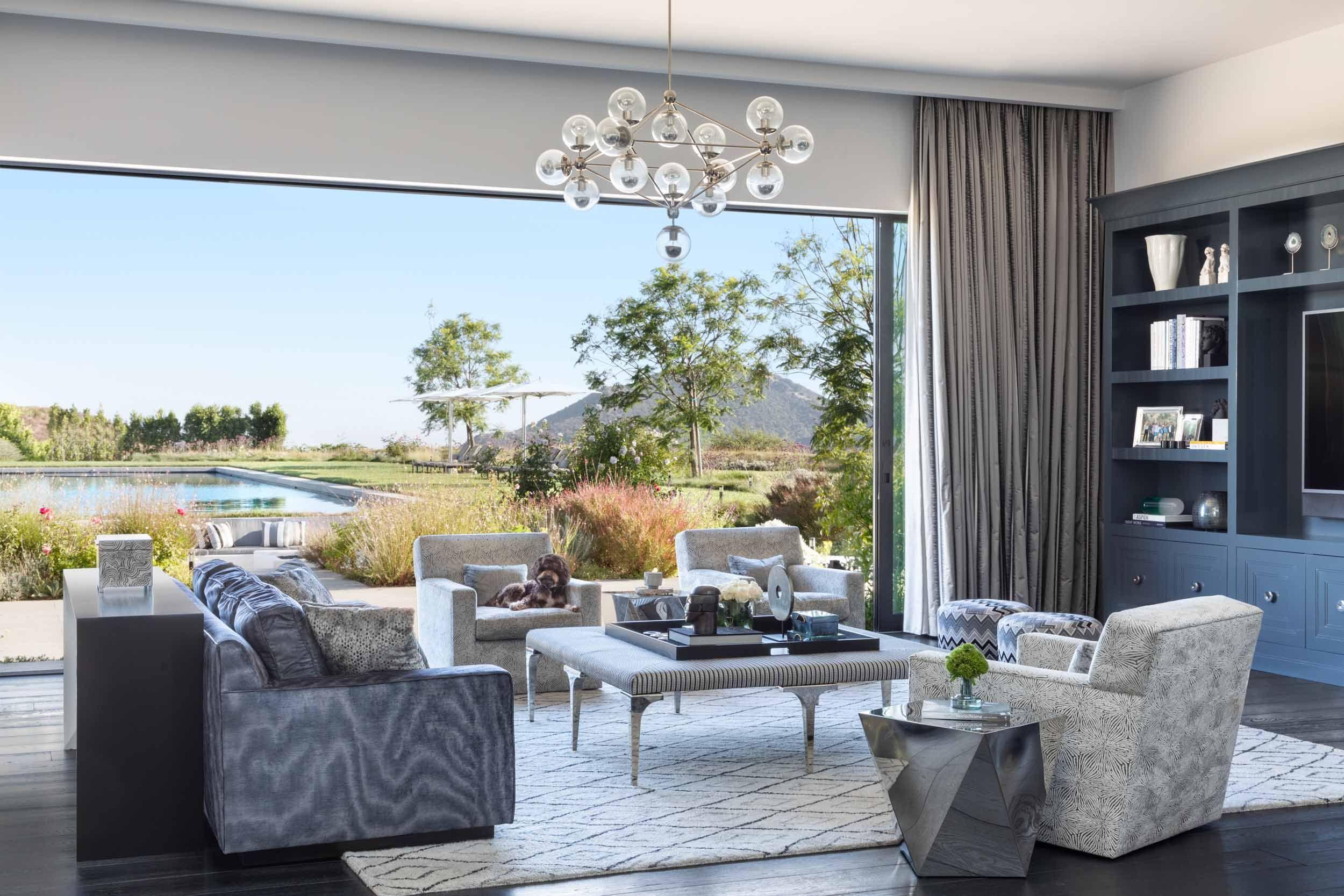 Lonni Paul Transforms A Bel Air Estate For Developer Ted Foxman