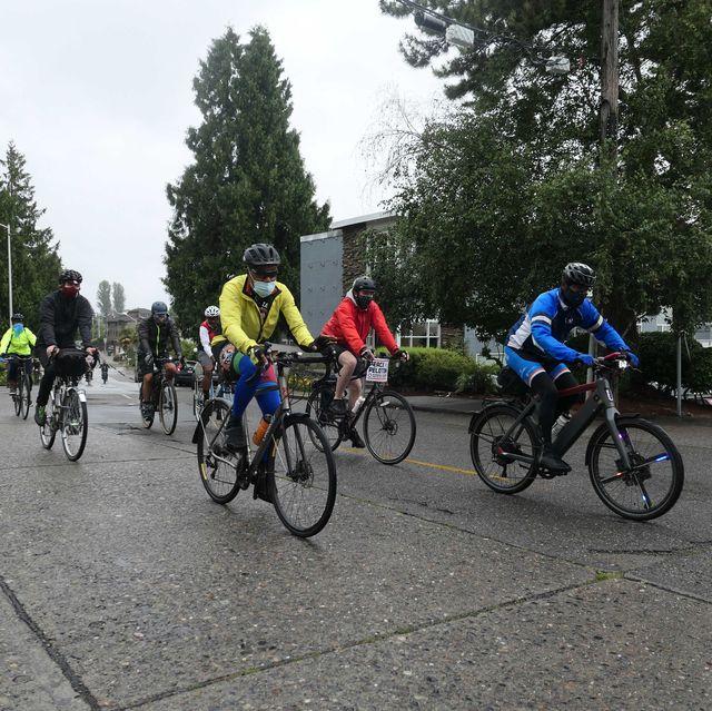 scenes seattle's peaceful peloton bike ride in august 2020