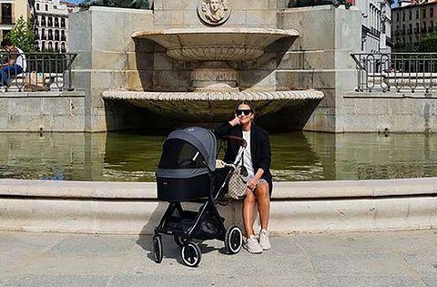 paula echevarria con su hijo