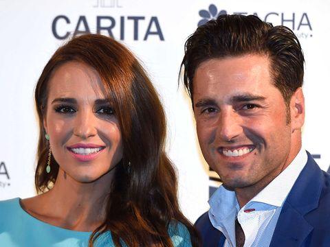 Paula Echevarría con David Bustamante: posan en photocall