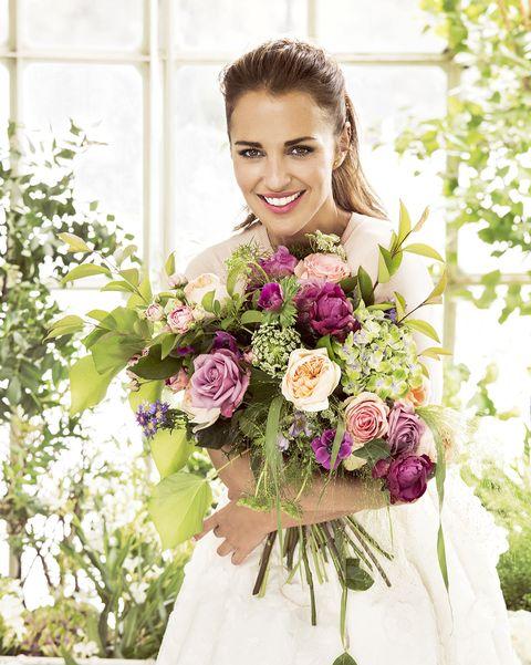 famosos con flores en instagram paula echevarria
