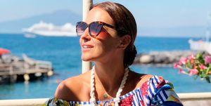 Paula Echevarría en Amalfi