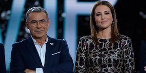 Paula Echevarría y Jorge Javier Vázquez en el plató de 'GH VIP7' noviembre 2019