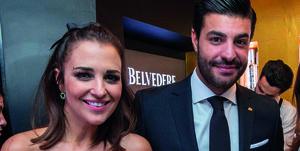 Paula Echevarría y Miguel Torres en la fiesta de 'Velvet'