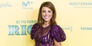 """Paula Echevarría en la premiere de """"Si yo fuera rico"""""""