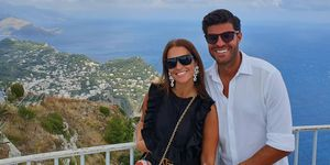 Paula Echevarría y Miguel Torres en la Isla de Capri