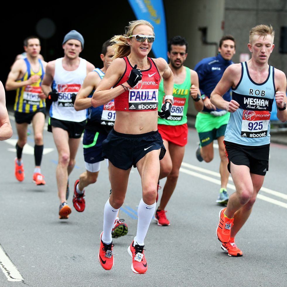 Paula Radcliffe on staying in the moment when running