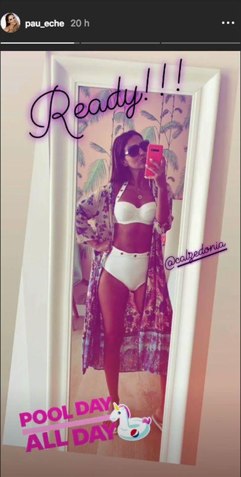 Paula Echevarría posa en bikini