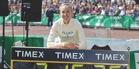 media: Paula Radcliffe greatest marathon