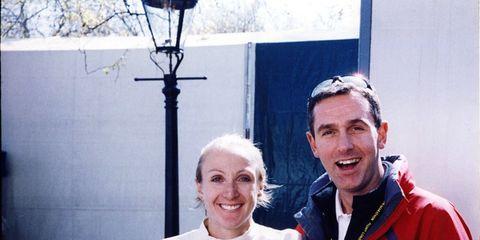 Paula Radcliffe and Gerard Hartmann