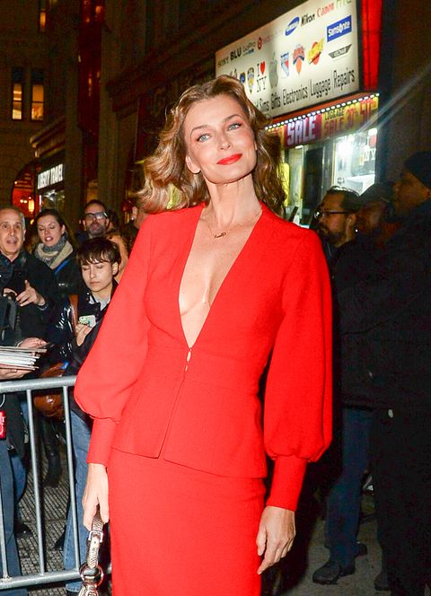 Red, Clothing, Fashion, Dress, Blond, Shoulder, Event, Cocktail dress, Premiere, Outerwear,