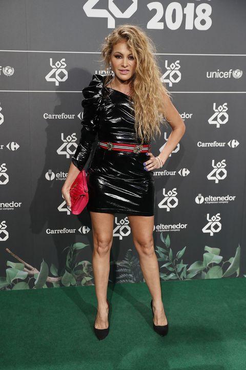 Photocall de la cena de nominados a Los 40 Music Awards 2018.